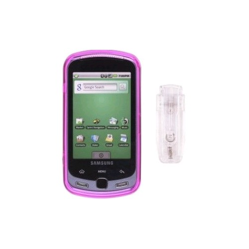 Wireless Solutions  Snap-On Case for Samsung SPH-M900, Instinct Q, Moment - Pink