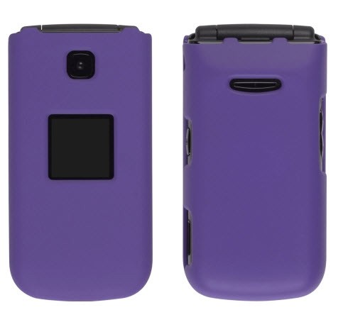 Wireless Solutions Soft Touch Snap-On Case for Samsung Chrono SCH-R261 - Purple