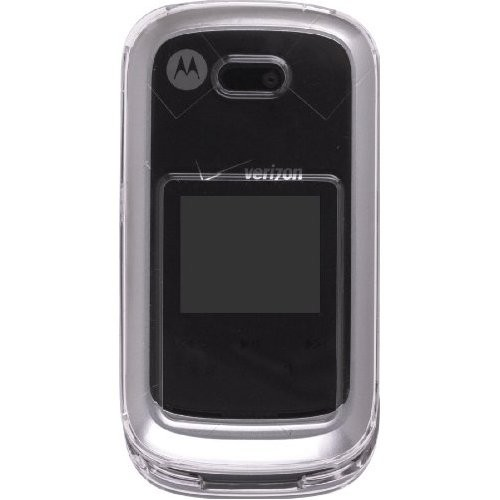 Wireless Solutions Snap-On Case for Motorola Entice W766 - Clear