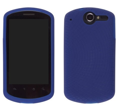 Wireless Solutions Radiant Silicone Gel Case for Huawei Impulse 4G U8800 - Blue