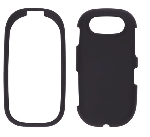 Wireless Solutions Soft Touch Snap-On Case for Pantech Ease P2020 - Black