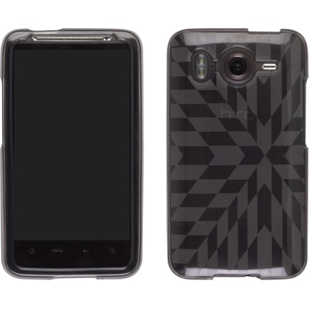 Smoke Frosted Prism Dura-Gel TPU Case for HTC Inspire 4G