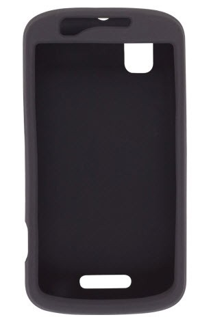 Wireless Solutions Silicone Gel Case for Motorola Droid Pro XT610 - Black