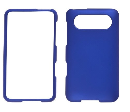 Wireless Solutions Soft Touch Snap-On Case for HTC HD7 (Blue)