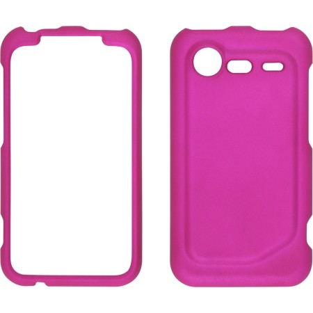 Pink Soft Touch Snap-On Case for HTC Incredible 2
