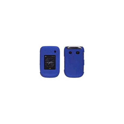 Soft Touch Snap-On Case for BlackBerry Style 9670 (Cobalt Blue)