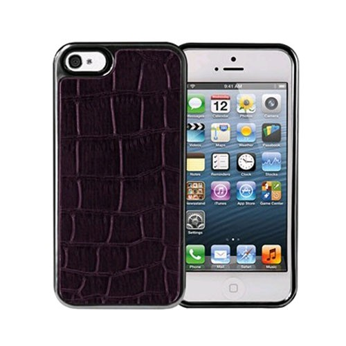 Xentris Wireless Hard Shell for Apple iPhone 5/5S - Purple Alligator