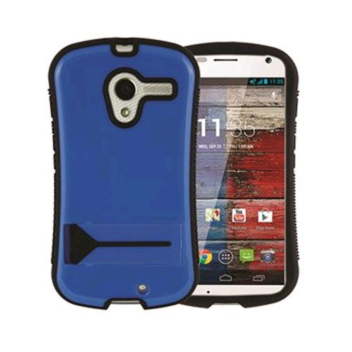 Xentris Wireless Hybrid Shell for Motorola Moto X - Blue/Black