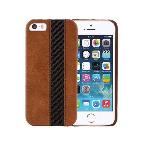 Xentris Wireless Hard Shell for Apple iPhone 5/5S - Executive Brown