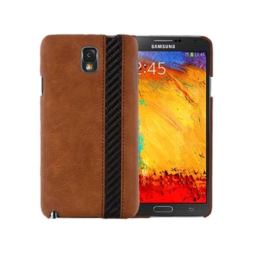 Xentris Wireless Hard Shell for Samsung Galaxy Note 3 - Executive Brown