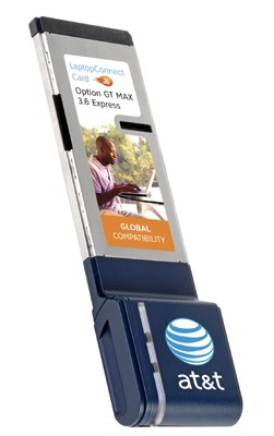 Option Wireless GT Max 3.6 Express Card 3G (AT&T)