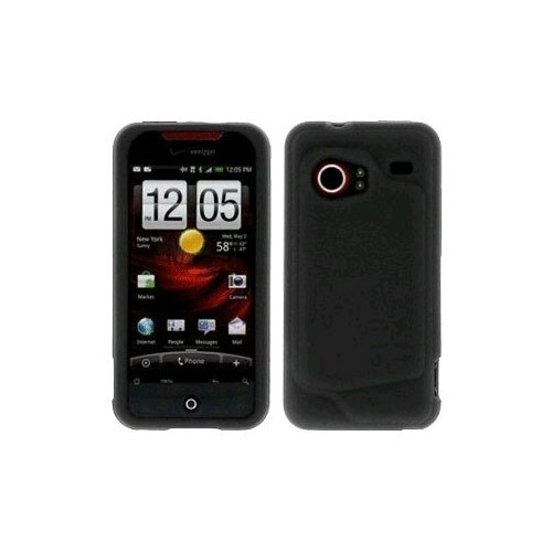 HTC - Silicone Case for HTC Droid Incredible - Black
