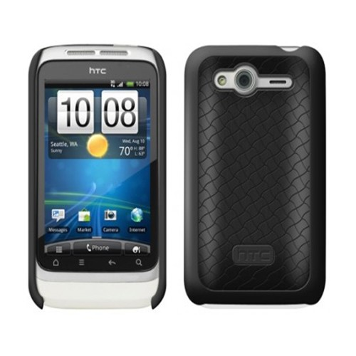 OEM HTC  Hard Shell Case for HTC Wildfire S (Black)