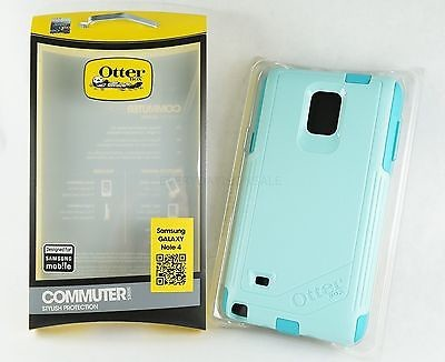 pretty nice 47475 01b49 OtterBox Commuter Case for Samsung Galaxy Note 4 - Aqua Sky