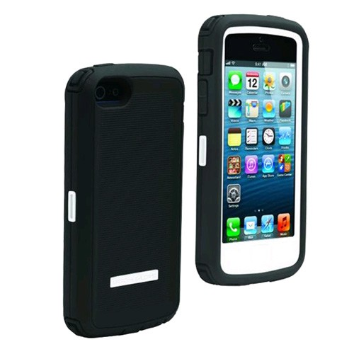 Body Glove ToughSuit Case for Apple iPhone 5 (White/Grey)