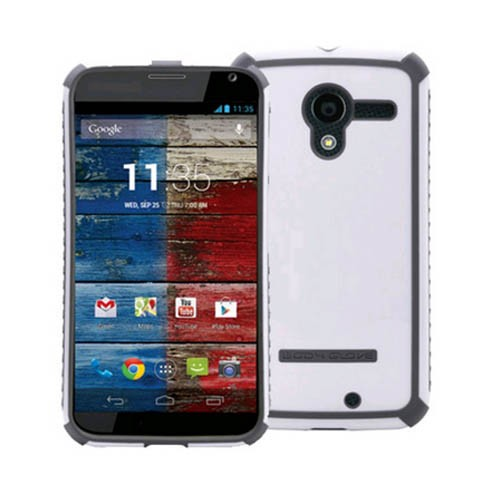 Body Glove Tactic Series Case for Motorola Moto X (White/Charcoal) - 9371301
