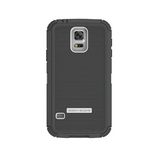 Body Glove ToughSuit Case for Samsung Galaxy S5 (White & Charcoal)