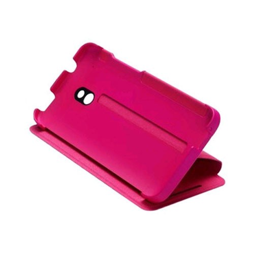 HTC Double Dip Flip Case for HTC One Mini (M4) - Pink