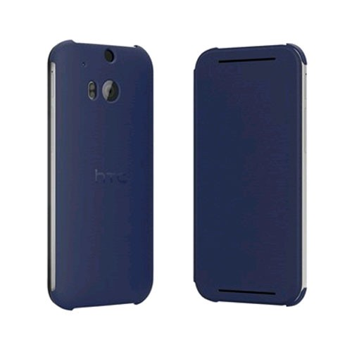HTC Flip Case for HTC One (M8) - Imperial Blue