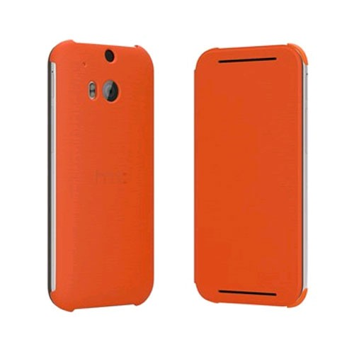 HTC Flip Case for HTC One (M8) - Orange Popsicle