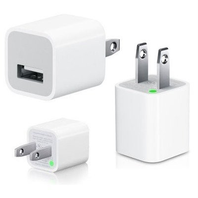 Original Apple USB Charger Adapter A1265 (White)