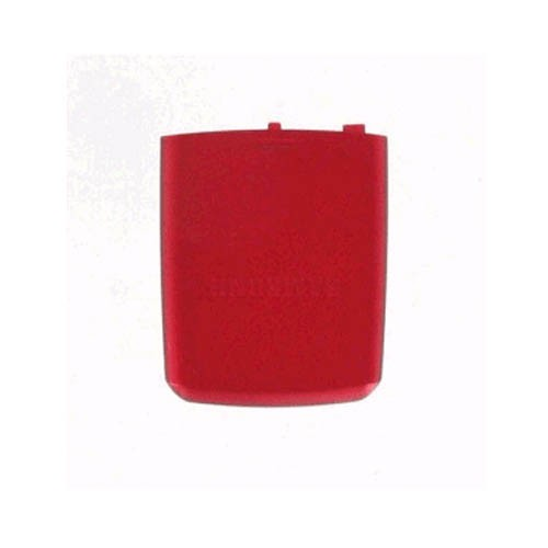 OEM Samsung SGH-A737 Standard Battery Door/Cover - Red