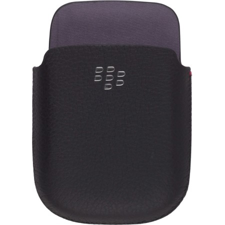 RIM BlackBerry Leather Pocket. No clipor closing mechanism. Black.