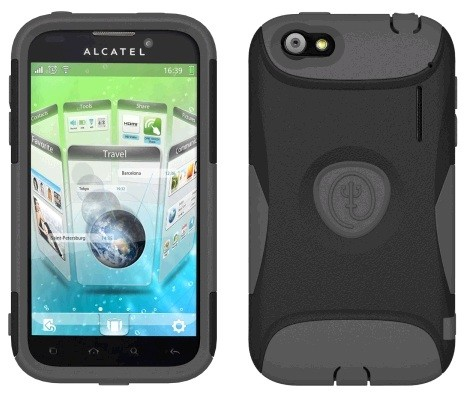 AFC Trident, Inc. - Aegis Case for Alcatel One Touch AS960 - Black