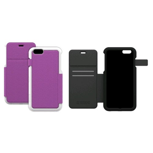 AFC Trident, Inc. Apollo Folio Case Cover for Apple iPhone 6 Plus / iPhone 6S Plus (Lavender) - AP-API655-WTF04