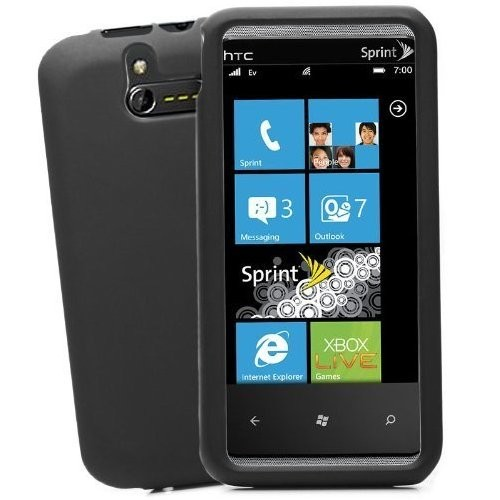 HTC Arrive Snap-On Hard Protective Case - Black