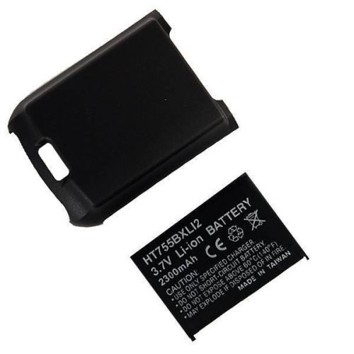 Technocel Lithium Ion Extended Battery & Door for Palm Treo 755 - Black