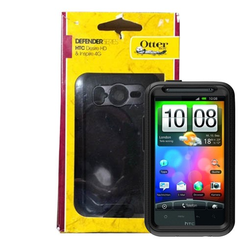 promo code ed657 f4a4b Otterbox Defender Series Case for HTC Desire HD / Inspire 4G (Black)