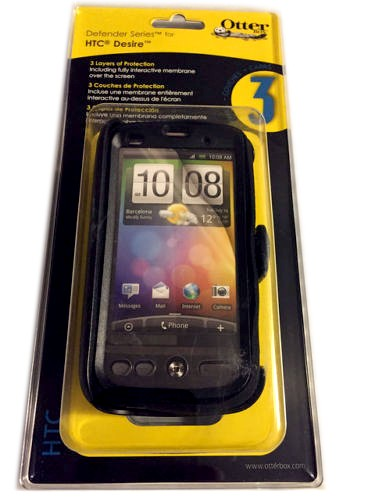 official photos f4b0d bf9fa OtterBox Defender Case for HTC Desire 6275 (Black)