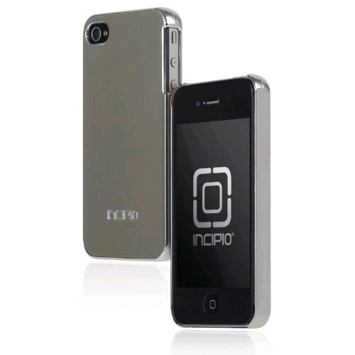 Incipio Feather Ultralight Hard Shell Case for Apple iPhone 4/4S - Chrome