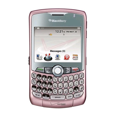 BlackBerry Curve 8330 Replica Dummy Phone / Toy Phone (Pink) (Bulk Packaging)