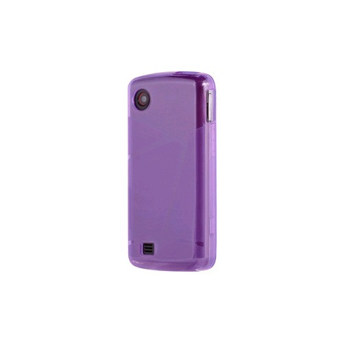 OEM Verizon LG Chocolate Touch VX8575 High Gloss Silicone Case - Purple (Bulk Packaging)