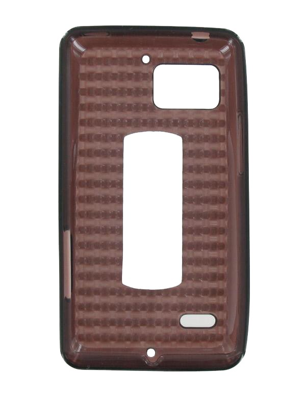 OEM Verizon High Gloss Silicone Case for Motorola DROID Bionic XT875 (Black) (Bulk Packaging)