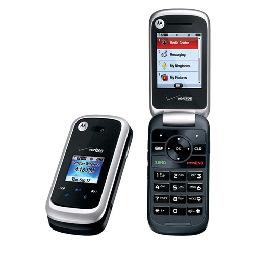 Motorola Entice W766 Replica Dummy Phone / Toy Phone (Black/Silver) (Bulk Packaging)