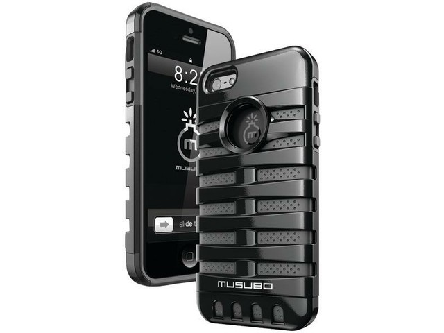 Musubo Retro Case for Apple iPhone 5 (Black)