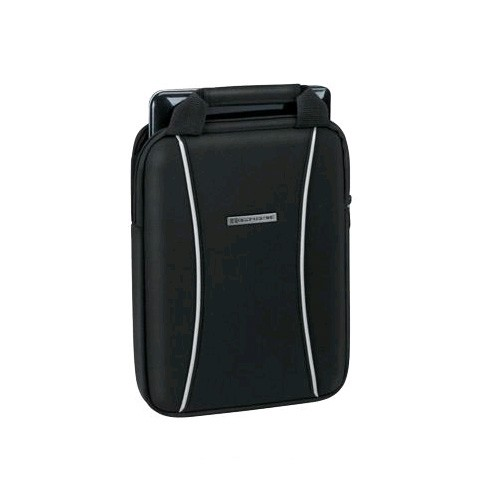 Body Glove - Neoprene Vertical Case for iPad 4/3/21, Galaxy Tablets, and Netbooks - Black