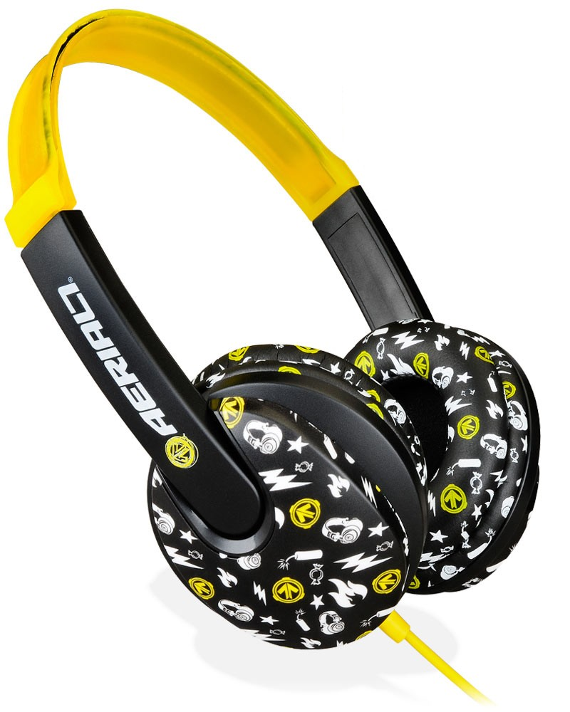 Aerial7 Arcade Children's Headphones - Pakman (Yellow)