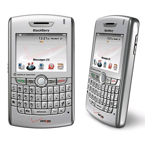 BlackBerry 8830 Replica Dummy Phone / Toy Phone (Silver) (Bulk Packaging)