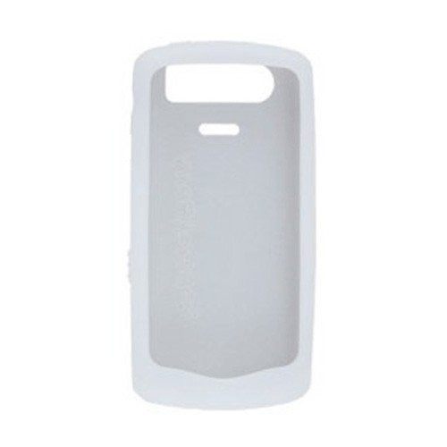 Alltel Wireless 2 Pack of Silicone Gel Cases RCSXA01 for BlackBerry Pearl 8130 (White/Clear and Black)