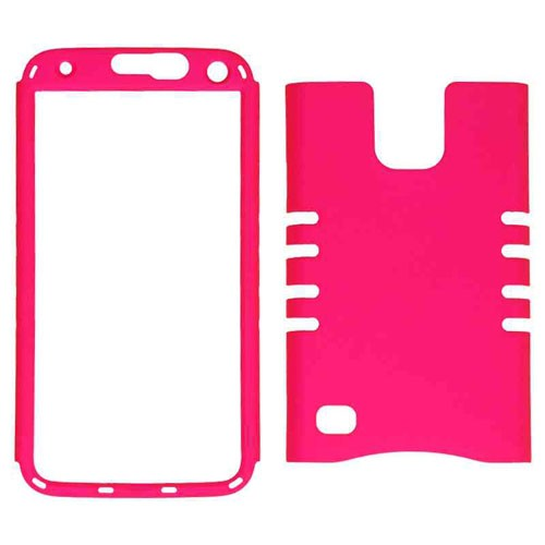 Rocker Series Snap-On Protector Case for Samsung Galaxy S5 / G900A / G900V / G900P / G900T / G900R4 (Fluorescent Dark Ho