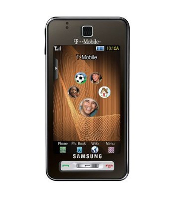 Samsung Behold T919 Quad band World Phone/GPS/5 MP Camera - Unlocked (Brown)