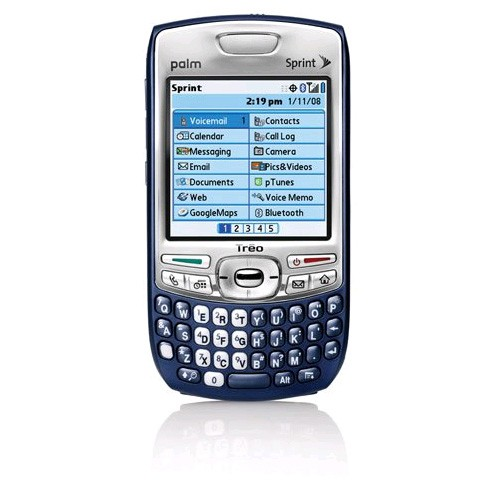 Palm Treo 755p Sprint CDMA PDA Cellphone (Blue) - Treo 755p-Verizon-B Stock