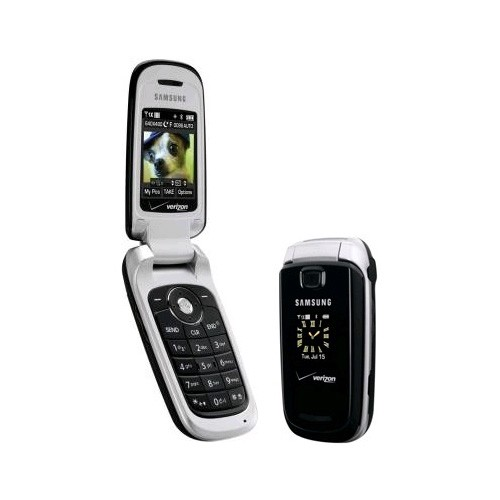 Samsung SCH-U430 Replica Dummy Phone / Toy Phone (Black & Silver)
