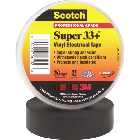 "3M Products - Electrical Tape,#33, 3/4"" x 66'/10 rolls"