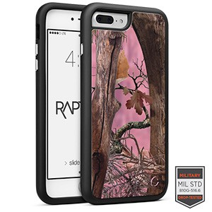iPhone 7/8+ - Rapt BK Camo Woods Pink 1