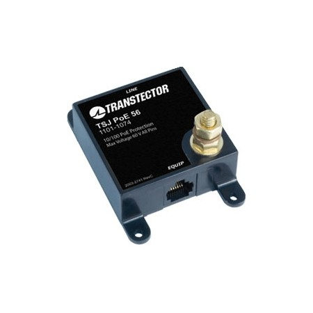 Transtector Systems, Inc. - Ethernet Shielded RJ-45 Surge Protector